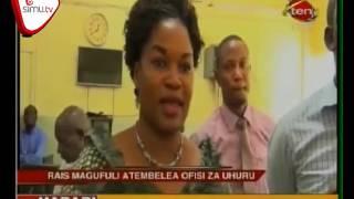 Rais Magufuli Afanya Ziara Ya Kushtukiza Gazeti La Uhuru