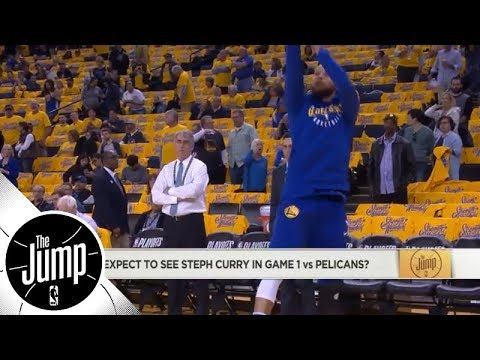 We might see Stephen Curry back for Game 1 of Warriors vs. Pelicans | The Jump | ESPN