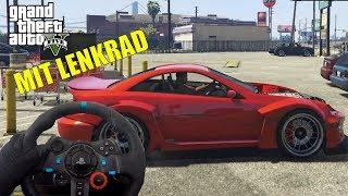 GTA 5 mit dem Lenkrad + Lenkrad Cam