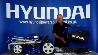 Hyundai Self Propelled 4-in-1 Petrol Lawn Mower HYM51SP Unboxing & Assembly