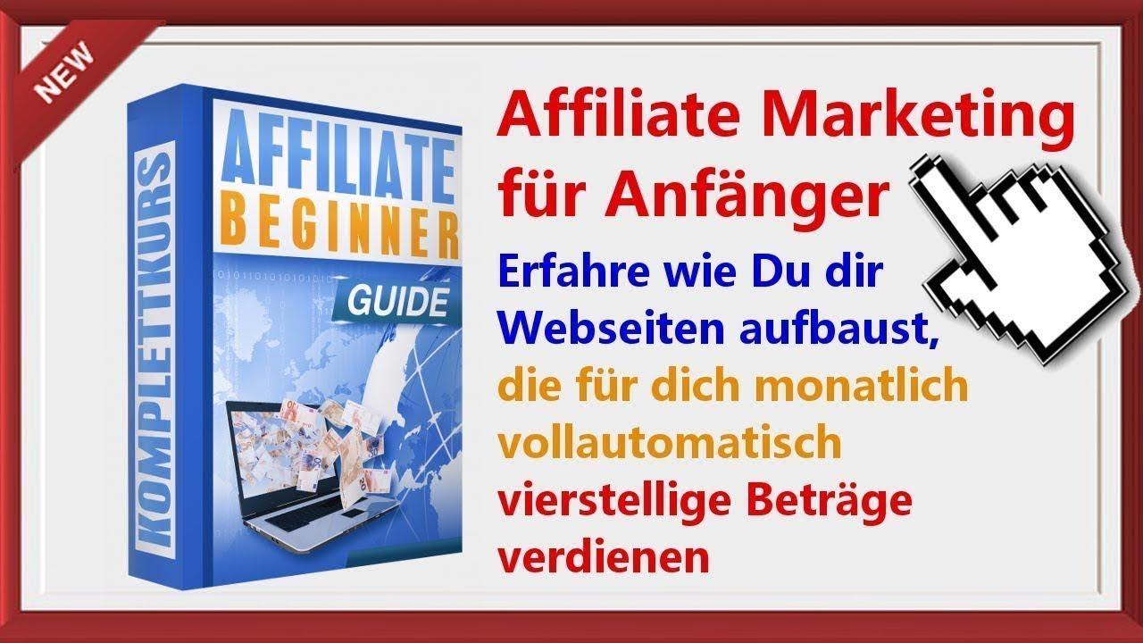 Affiliate Webseiten