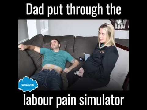 This Man Experienced The Labor Pain See What Happened Next Youtube