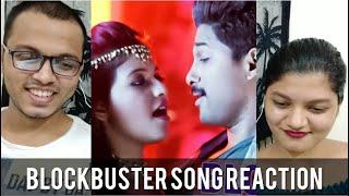 BLOCKBUSTER Song REACTION | Sarrainodu | Allu Arjun | Rakul Preet | RECit Reactions