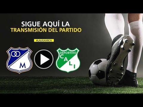 Millonarios Vs Cali ¡EN VIVO!  - Fecha 5 Liga Águila 2018-II