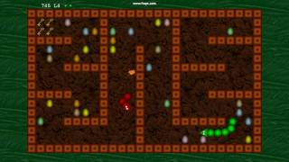 Arcade Snake  (v1.1) for XBox 360 (XNA) Indie Game - Maze Level demo