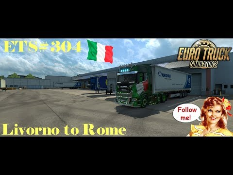 ETS#304 Transporting Medical Supplies from Livorno to Rome 311 KM