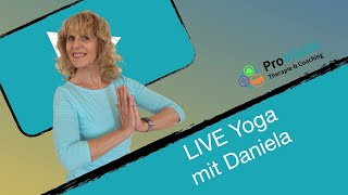 LIVE Yoga mit Daniela DI 23.06.20