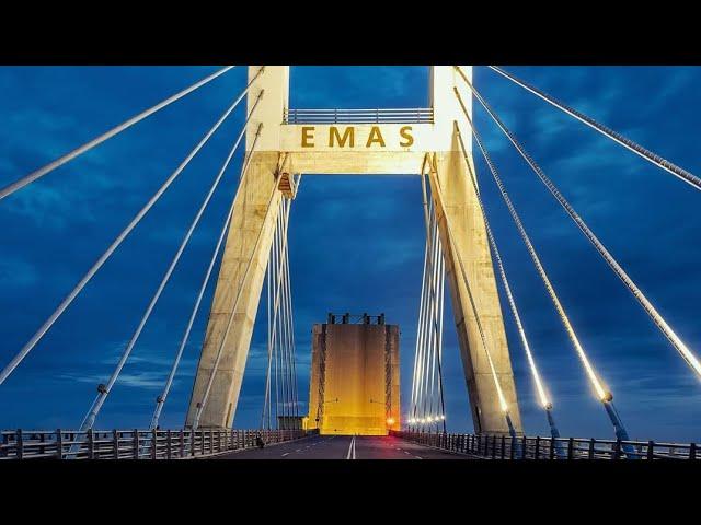 Indonesia keren.jembatan emas bangka belitung