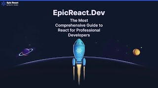 Livestream with Kent: Tour of EpicReact.Dev
