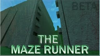 Roblox: The maze runner BETA | Complete walkthrough/gameplay (PATCHED)