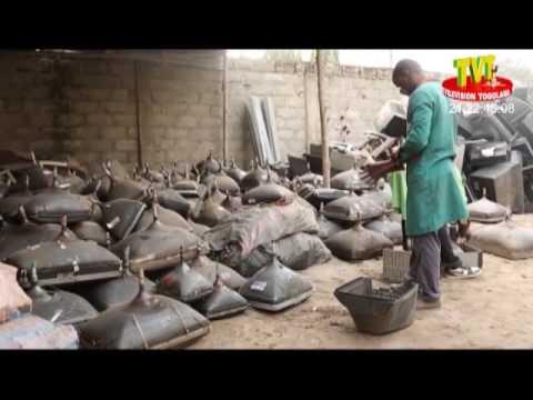 l'ONG ASDI contribue à prévenir certaines maladies à travers la collecte et le recyclage des DEEE
