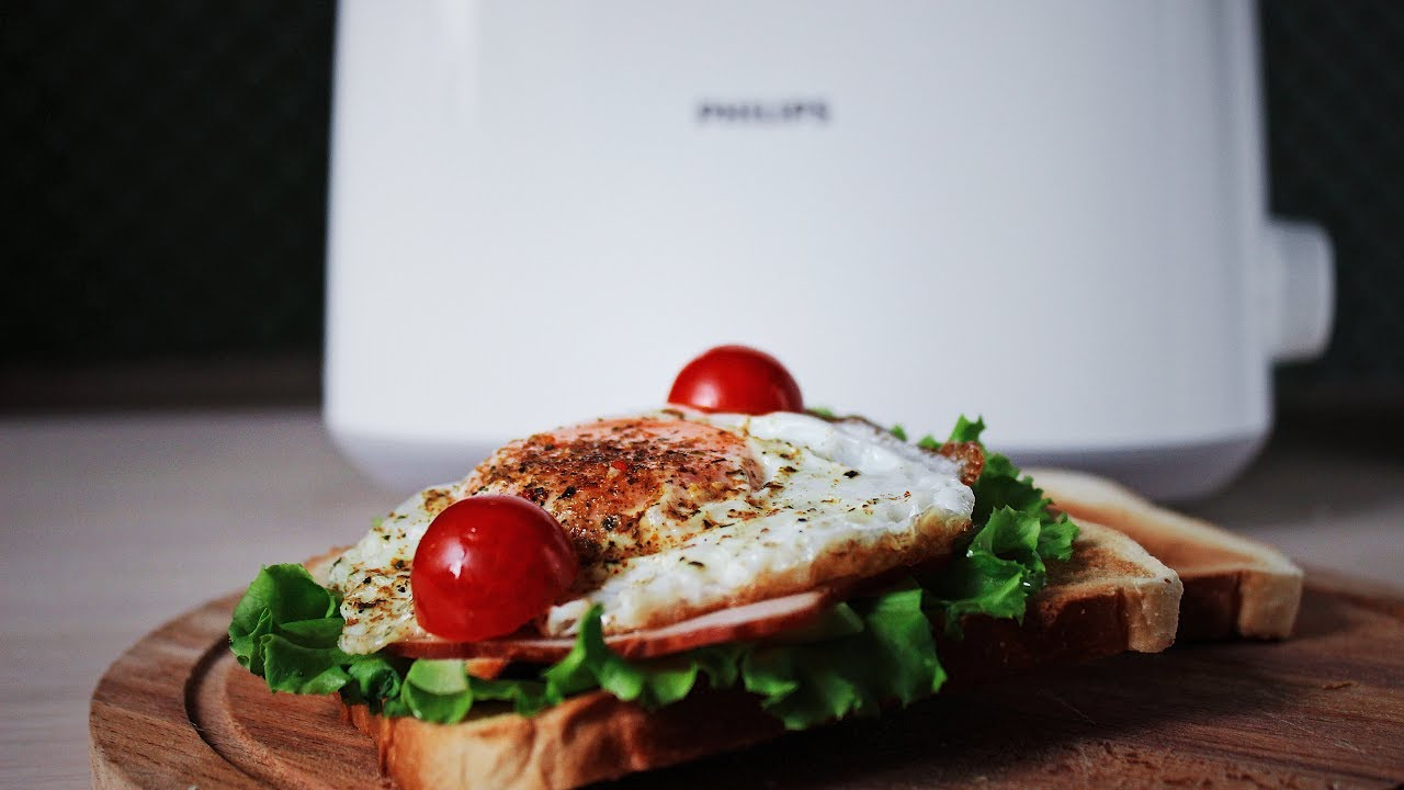 Бутерброд в тостере - YouTube