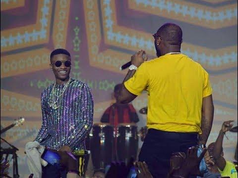 "Download NotjustOk TV: Wizkid and Davido Settle Beef As They Perform ""FIA"" Together | #WizkidTheConcert"