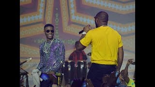 Wizkid and Davido Settle Beef As They Perform