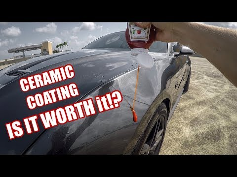 Is Ceramic Coating Worth The Money? Should you Ceramic Coat your car?