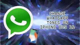 Change whatsapp default ringtones to any kind you like by following the instructions on video, of course a jailbreak is required for this work. ------...