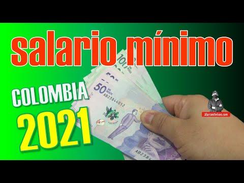 ✅ Este es el SALARIO MÍNIMO en #Colombia para 2021 🇨🇴