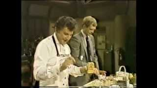 Liberace Cooking on Letterman