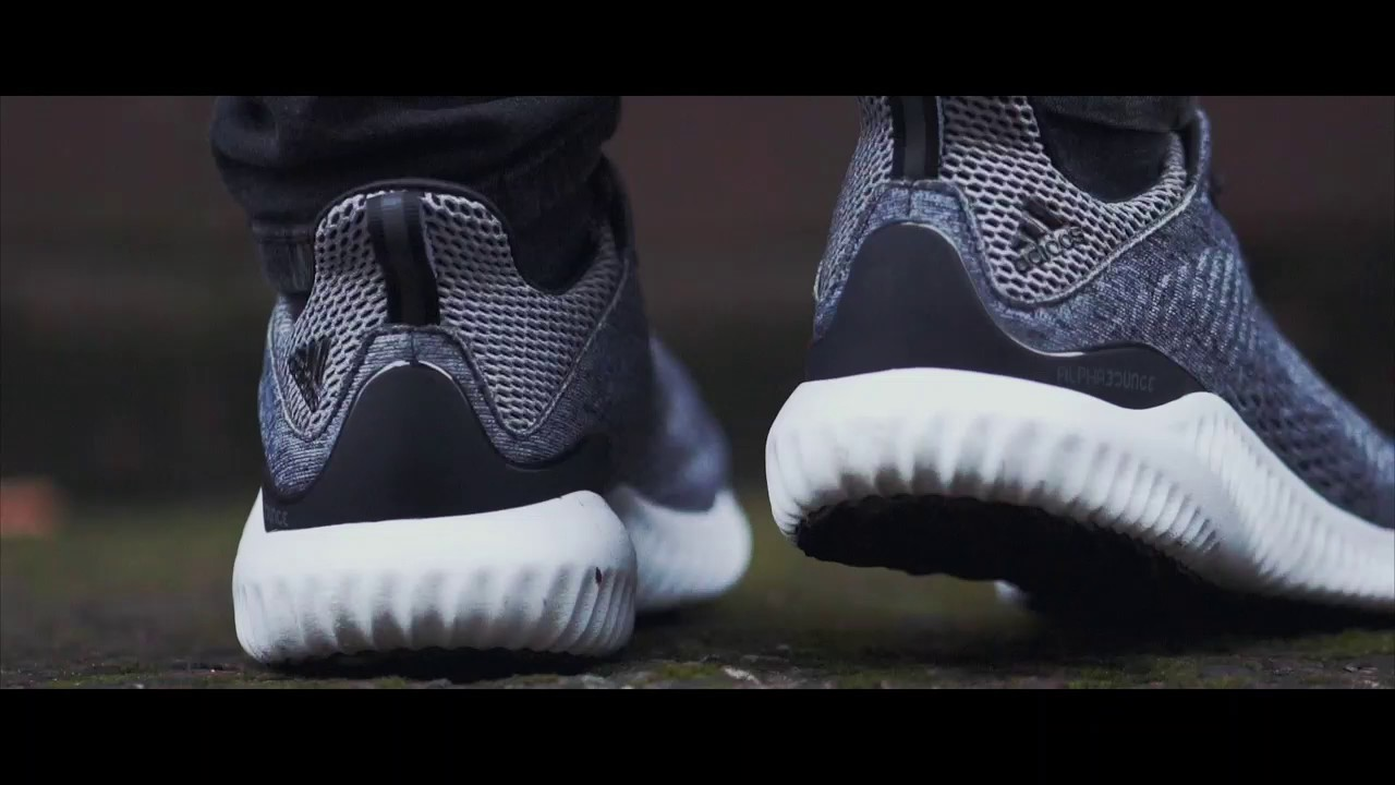 huge discount 3df64 6ecc8 Its Not A Glitch, Its the Adidas AlphaBounce - YouTube