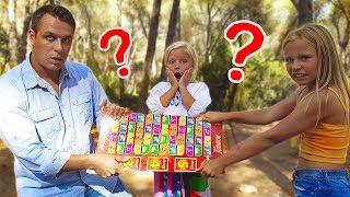 Игра - Челлендж  Николь и Алиса VS Саша  кто такой Саша ??? челендж челлендж 2019 challenge