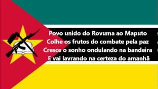Hymne national du Mozambique