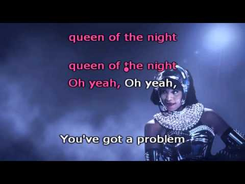 Whitney Houston - Queen of the night karaoke