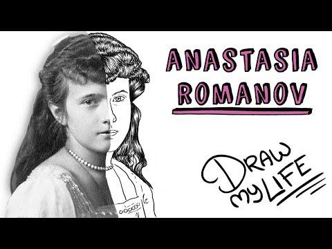 LA VERDADERA Hª DE ANASTASIA ROMANOV | Draw My Life