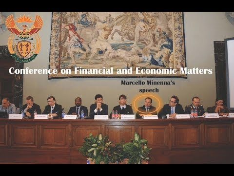 Embassy od South Africa - Conference on Financial and Economic Matters. Minenna's speech