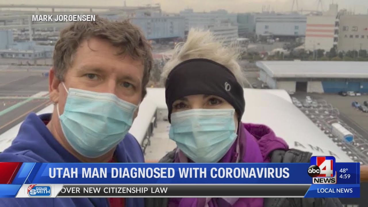St. George couple speaks out after both test positive for coronavirus amid outbreak on Japanese crui