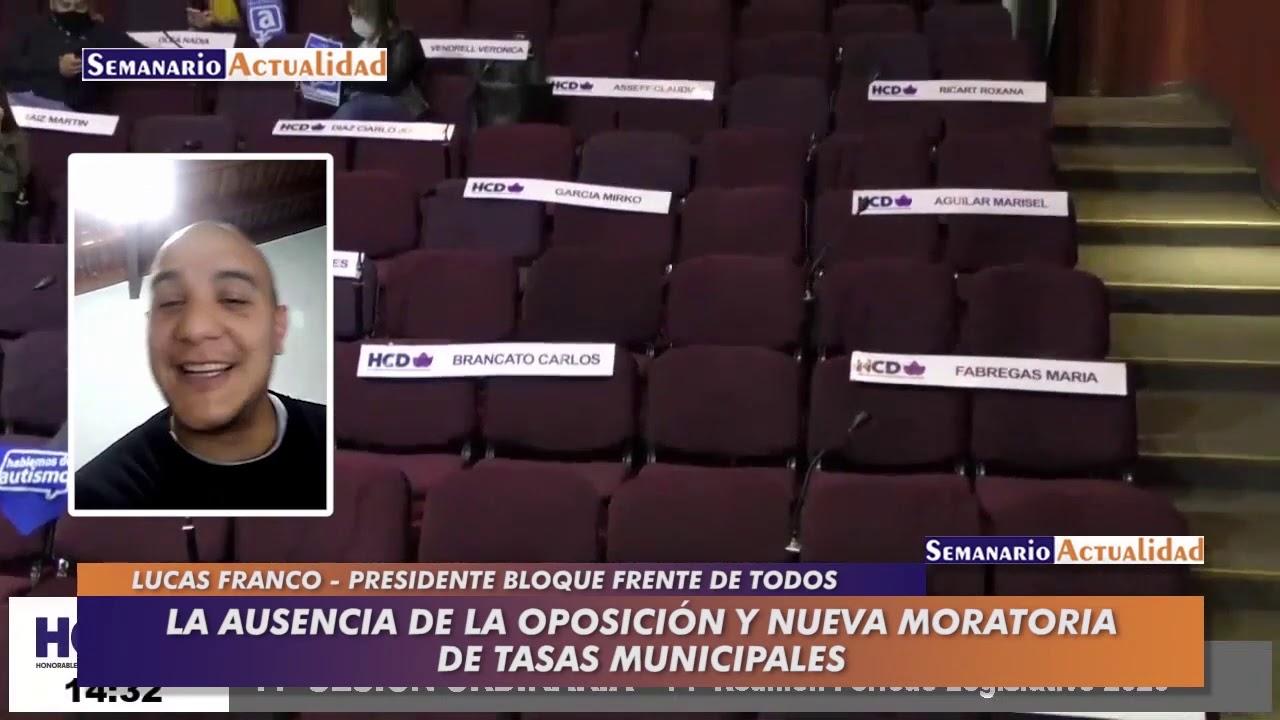 La ausencia de la oposición y nueva moratoria de tasas municipales