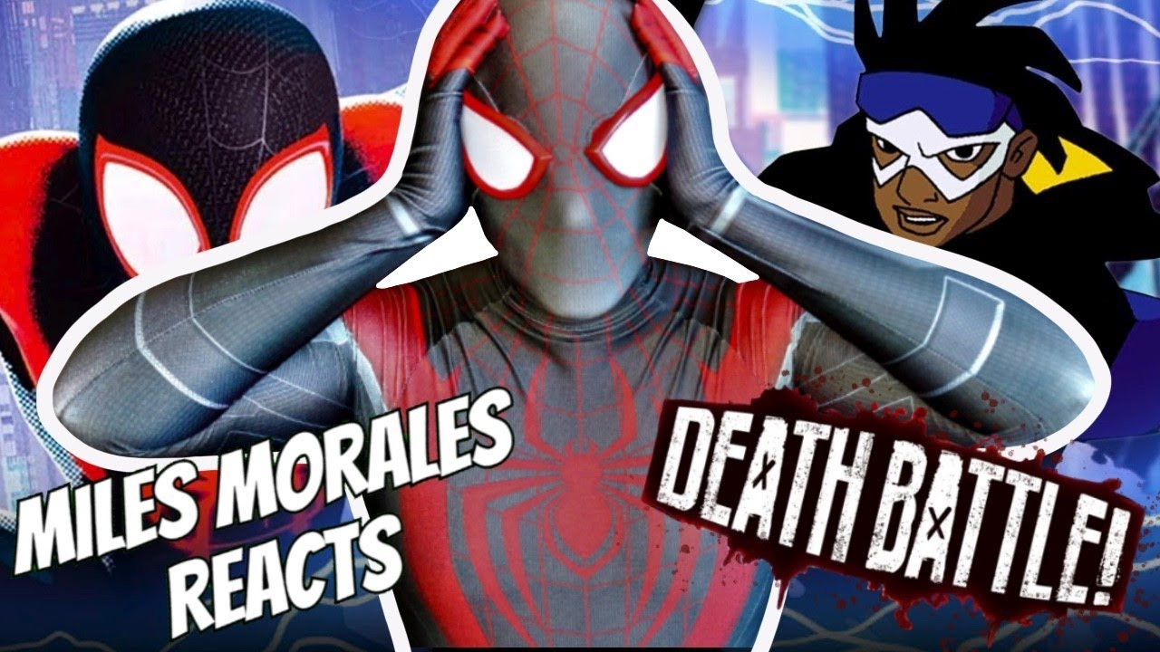 COSPLAYER REACTS: Miles Morales VS Static (Marvel's Spider-Man VS DC's Static Shock) | DEATH BATTLE!