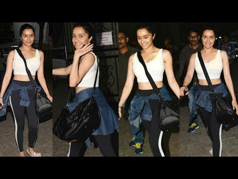 Shraddha Kapoor Without Makeup After Street Dancer 3 Dance Rehearsals