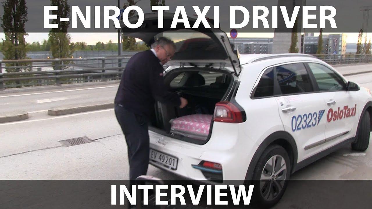 Interview of e-Niro taxi driver
