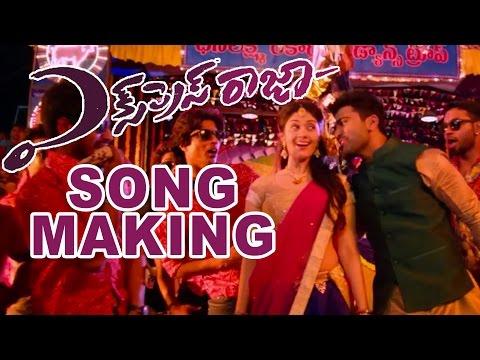 Katuketina Kalanu Chuste Song Making Video from the Movie Express Raja - Sharwanand