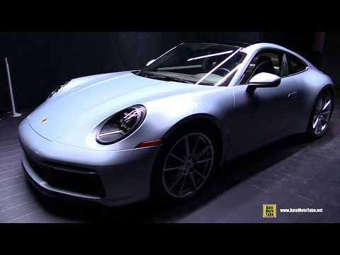 2020 Porsche 911 Carrera S 992 Dolomite Silver Metallic - Exterior Interior Infotainment Walkaround