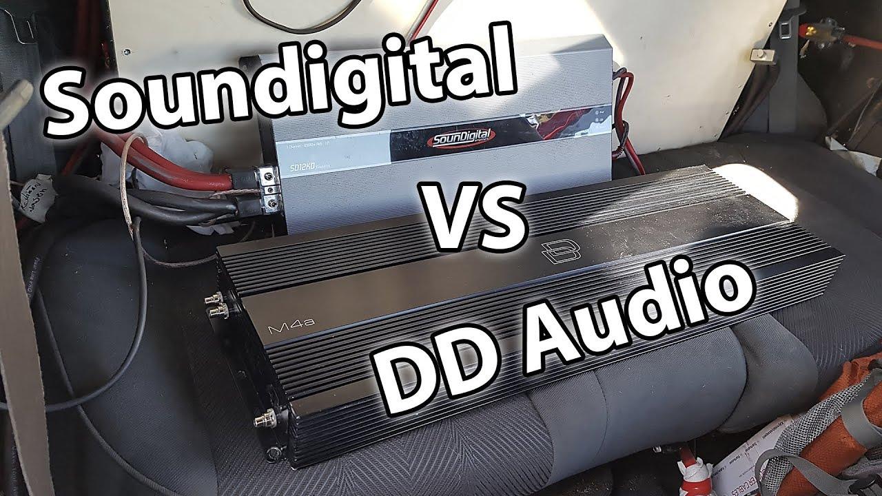 DD Audio M4a vs Soundigital SD12K @ 0 66ohm SPL #puntodemobuild