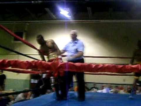 Cedric Johnson TKOs Dezi Ford June 27  at the Anderson Armory
