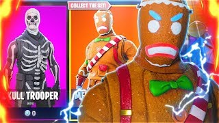 RAREST SKINS RETURN TO FORTNITE BATTLE ROYALE!! Saison 5 Skins THROWBACK