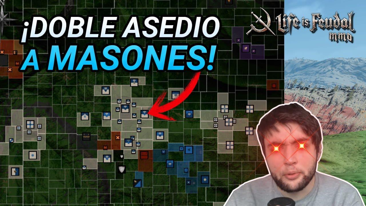 ¡ASEDIAMOS MASONES & NUEVA COALICIÓN! - Life is Feudal MMO 2020