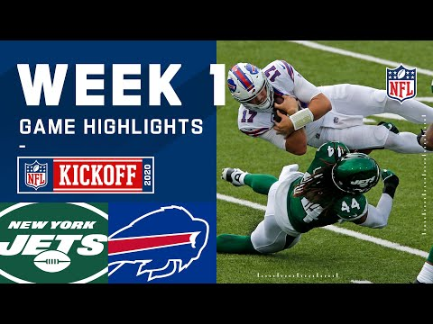 Jets vs. Bills Week 1 Highlights | NFL 2020