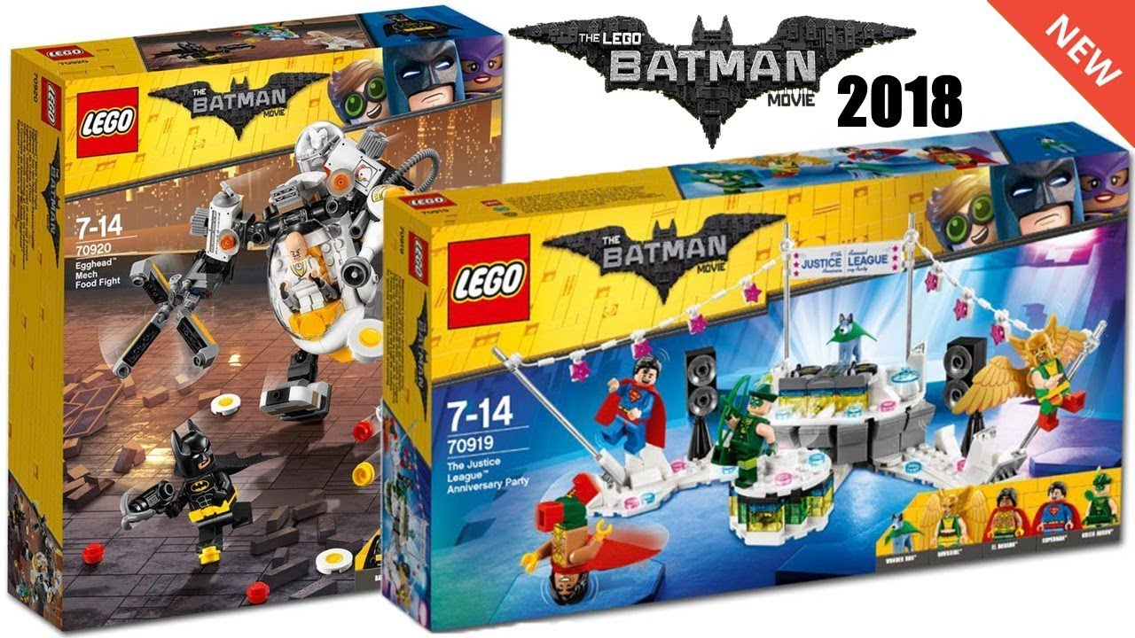 all lego batman movie 2018 sets pictures youtube. Black Bedroom Furniture Sets. Home Design Ideas