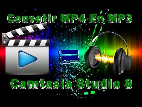 Como Convertir un Video en MP3 con Camtasia Studio 8