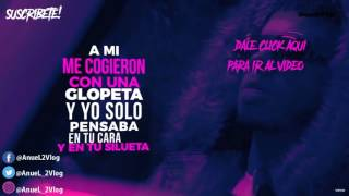 Anuel AA - Ayer 2 ft. J Balvin &  Nicky Jam ( Letras / Lirycs ) Video