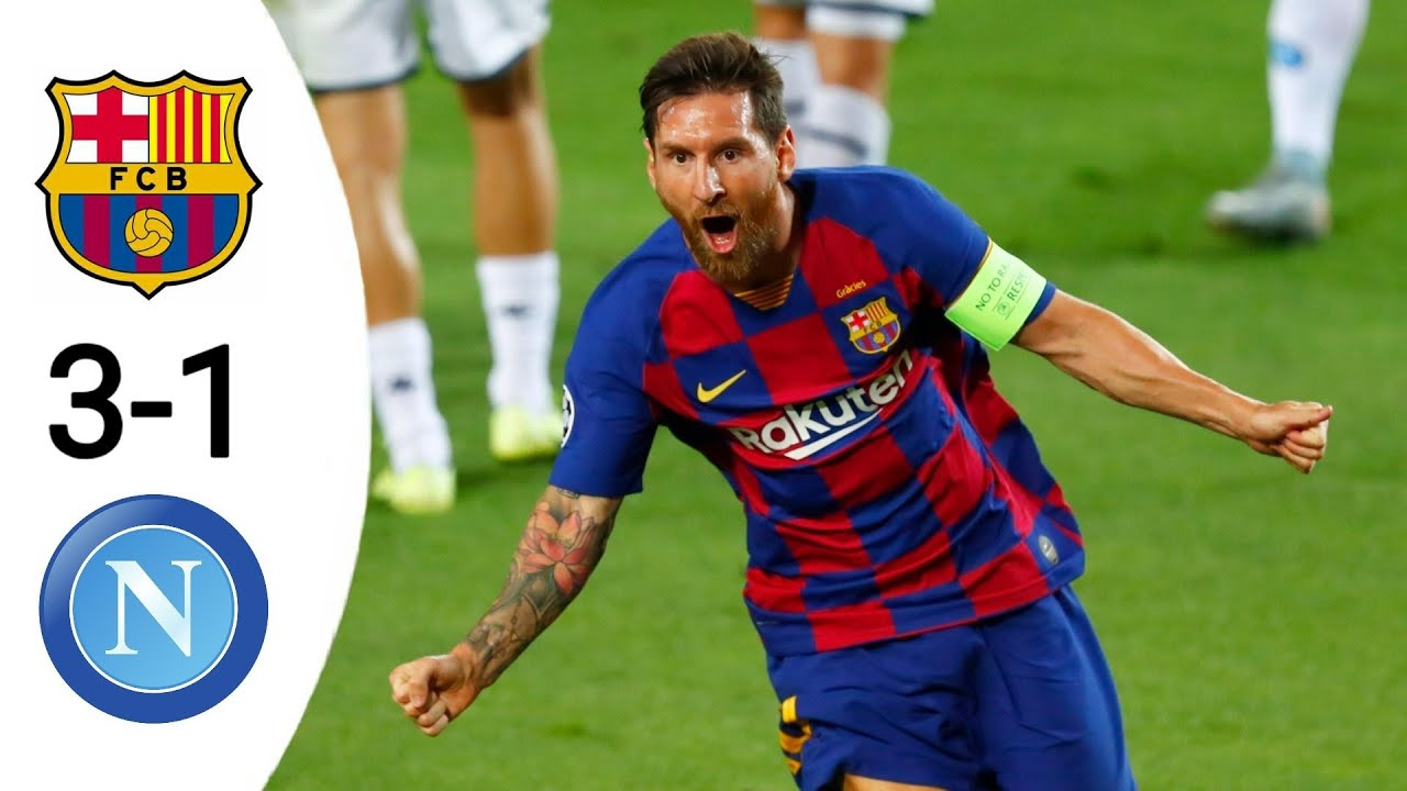 Download Barcelona vs Napoli 3-1 All Goals & Extended highlights UCL 2020