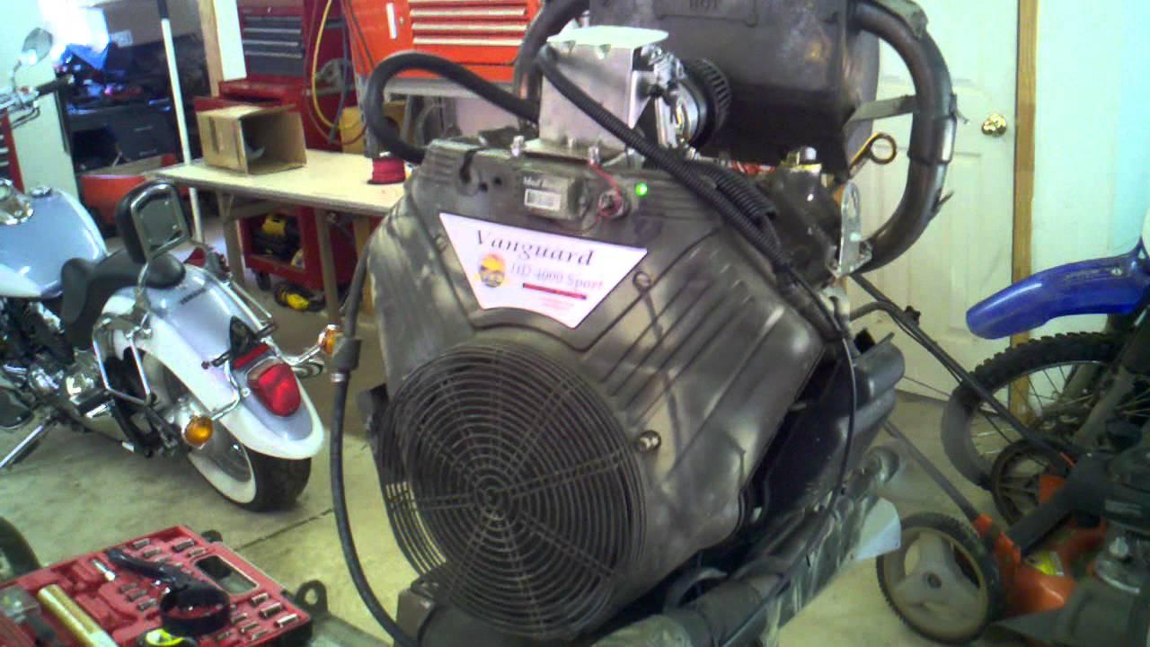 11 Hp Briggs And Stratton Wiring Diagram Mudbuddy Mud Motor 4000 Mikuni Carb Youtube