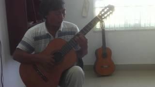 Những bước chân âm thầm guitar solo