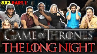 Game of Thrones - 8x3 The Long Night [Part 1] - Group Reaction