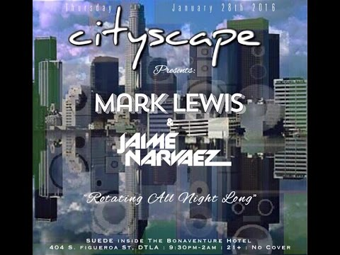 Mark Lewis Rockin out Cityscape, Los Angeles