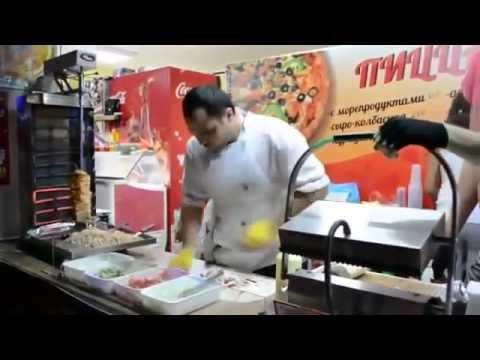 Đầu bếp nấu ăn cực đỉnh ở Nga