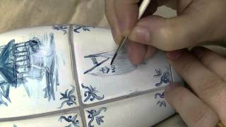Atelier Meijer - delft blue china bowling pin